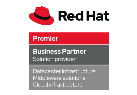 Logo Red Hat Premier Business Partner